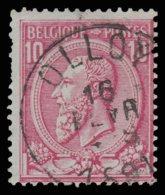"COB N°46 - Belle Oblitération ""OLLOY"" - 1884-1891 Léopold II"