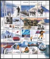 AAT / Austral. Antarktis 2001 - Mi-Nr. 125-144 ** - MNH - Überwinterung - Unused Stamps
