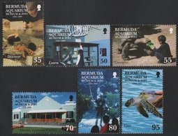 Bermuda 2001 - Mi-Nr. 799-804 ** - MNH - Museum & Zoo - Briefmarken