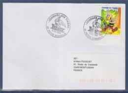 = Journée Du Timbre 1999 Astérix Et Idéfix Enveloppe 1er Jour 57 Petite Rosselle 6.3.99 N°3225a - Journée Du Timbre