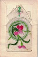 CP - Carte Brodée - Brodées