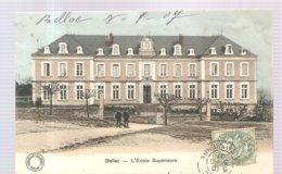 CPA Bellac (87) L'Ecole Supérieure écrite En 1907 - Bellac