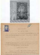 05.06.1920. KINGDOM OF SHS, ZEMUN, CHAIN BREAKERS, VERIGARI, POSTAL STAMPS AS REVENUE, ERROR ON 2KR STAMP - 1919-1929 Kingdom Of Serbs, Croats And Slovenes