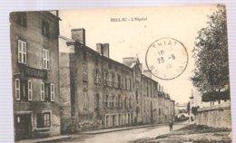 CPA Bellac (87) L'Hôpital écrite En 1923 - Bellac