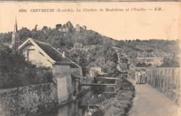 78 - CHEVREUSE - Le Clocher, La Madeleine Et L'Yvette - Chevreuse