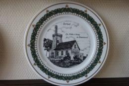 * Torhout (west Vlaanderen) * Uniek Bord Torhout Porselein (g Swaenepoel) Te Ieper Molen D'aussy De Breemeersch - Porselein & Ceramiek