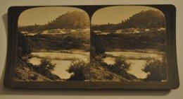 Photo Stereoscopique Photographie Nouvelle Zelande Wauganui River Famed For Its Scenery - Photos Stéréoscopiques