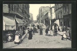 CPA Paris, Rue Des Epinettes, Vue De La Rue - Unclassified