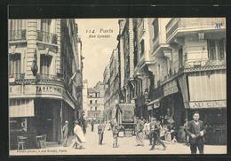 CPA Paris, Rue Gonnet, Vue De La Rue - Unclassified