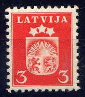 LETTONIE - 250** - ARMOIRIES - Lettonie