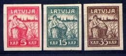 LETTONIE - 34/36* - ANNIVERSAIRE DE LIBERATION DE RIGA - Lettonie