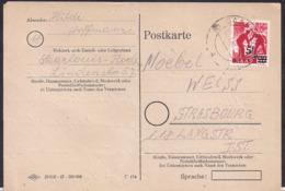 Saarland - 1948 - Brief - Zona Francesa
