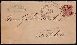 NDP 1868 1 Groschen Ganzsache Von HAMBURG I.A. Nach Berlin   (22993 - Sellos