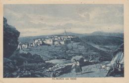 CROAZIA - ALBONA NEL 1800 -  VIAGGIATA 1932 - Kroatië