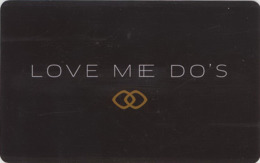 MACAO  KEY  HOTEL  Sofitel Macau At Ponte 16 - Love Me Do's - Hotelkarten