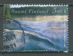 Finlande YT N°1532 Europa 2001 L'eau Richesse Naturelle Oblitéré ° - 2001