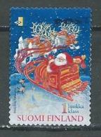 Finlande YT N°1533 Le Père Noel Oblitéré ° - Finlande