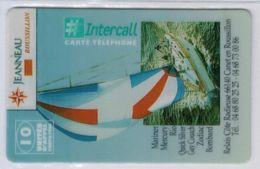 INTERCALL  - 10 Unités - Jeanneau Roussillon - Tirage : 100 Ex - Code Gratté - Voir Scans - Autres Prépayées