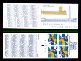 FINLAND 1994 Finland-Sweden/European Athletics Championships: Stamp Booklet UM/MNH - Markenheftchen