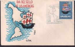 Uruguay - 1971 - FDC - Jour Du Sceau Des Amériques - Uruguay
