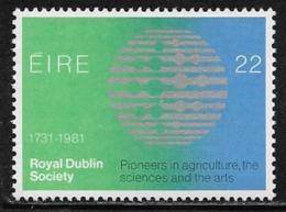 Ireland, Scott # 514 MNH Royal Dublin Society, 1981 - 1949-... Republic Of Ireland