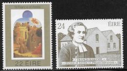 Ireland, Scott # 517-8 MNH St. Francis, Church, 1982 - 1949-... Republic Of Ireland