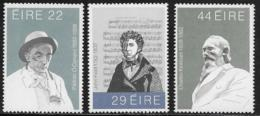 Ireland, Scott # 521,523-4 MNH Famous Men, 1982 - 1949-... Republic Of Ireland
