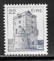 Ireland, Scott # 548 MNH Castle, 1982 - 1949-... Republic Of Ireland