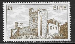 Ireland, Scott # 555 MNH Castle, 1982 - 1949-... Republic Of Ireland