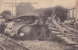 Deraillement De L'express De Cherbourg En Gare De Bernay (un Peu Sale) - Bernay