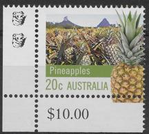 2012 20c Pineapples - 2 Koala Reprint MUH Bottom Left Corner - Nuovi