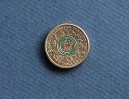Australia 2016 GREEN RING $2 Olympic Coin RAM - 2 Dollars