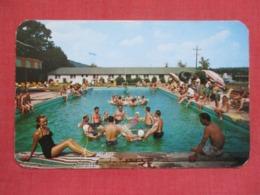Swimming Pool At Fernwood Pocono Mountains Bushkill Pa.  Ref 3640 - United States