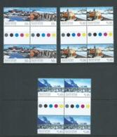 Australian Antarctic Territory 2004 Mawson Base Set Of Gutter Blocks Of 4 MNH - Unused Stamps
