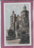 25.-MONTBELIARD .- Le Château Et Le Monument Aux Morts - Montbéliard