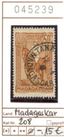 Madagaskar - Madagascar - Republique Malgache - Madagasikara - Michel 208 - Oo Oblit. Used Gebruikt - Madagaskar (1960-...)