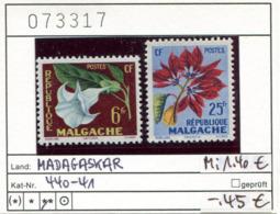 Madagaskar - Madagascar - Republique Malgache - Madagasikara - Michel 440-441 - ** Mnh Neuf Postfris - Madagaskar (1960-...)
