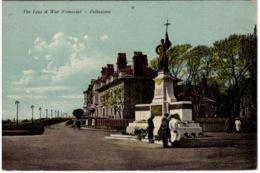 Ca. 1907 Kleur FOLKESTONE : The Leas & War Memorial Naar London W9 GB - Londen
