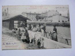 CPA 31 HAUTE GARONNE - TOULOUSE : Types Toulousains - Blanchisseuses Au Bord Du Canal - Toulouse