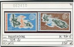 Madagaskar - Madagascar - Republique Malgache - Madagasikara - Michel 719-720 - ** Mnh Neuf Postfris - Apollo - Madagaskar (1960-...)