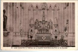 61kt 1939 CPA - LEGE - INTERIEUR DE LA CHAPELLE NOTRE DAME DE PITIE - Legé