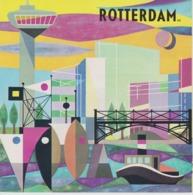 Brochure About Rotterdam - General Information - Map - Tourist Attractions - En Esperanto - 1966 - Toeristische Brochures