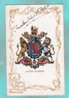 Small Old Post Card Of Heraldic Series,United Kingdom,.S79. - United Kingdom