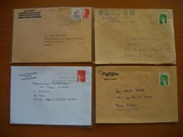 Réunion : Quatre Lettres Hal Hunter, Collège Mille-Roches, SNETAA Et SREPEN. - Reunion Island (1852-1975)