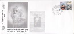 India 2019  Nebel Laureate  Rabindranath Tagore  1931 Litereature Nobel Awardee  Special Cover # 19518  D  Indien Inde - Nobel Prize Laureates
