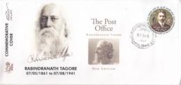 India 2019  Nebel Laureate  Rabindranath Tagore  1931 Litereature Nobel Awardee  Special Cover # 19524  D  Indien Inde - Nobel Prize Laureates