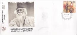 India 2019  Nebel Laureate  Rabindranath Tagore  1931 Litereature Nobel Awardee  Special Cover # 19527  D  Indien Inde - Nobel Prize Laureates