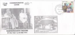 India 2019  Nebel Laureate  Rabindranath Tagore  1931 Litereature Nobel Awardee  Special Cover # 19520  D  Indien Inde - Nobel Prize Laureates