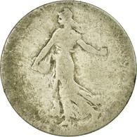 Monnaie, France, Semeuse, 50 Centimes, 1900, Paris, B+, Argent, Gadoury:420 - France