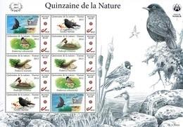 """Vel """"Quinzaine De La Nature"""" (ville De Namur) - 1985-.. Vogels (Buzin)"""